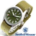 【キャンペーン対象外】 Smith & Wesson スミス&ウェッソン MILITARY WATCH 腕時計 OLIVE DRAB SWW-1464-OD