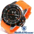 【キャンペーン対象外】 Smith & Wesson スミス&ウェッソン TROOPER WATCH 腕時計 ORANGE/BLACK SWW-397-OR