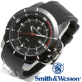 【キャンペーン対象外】 Smith & Wesson スミス&ウェッソン TROOPER WATCH 腕時計 WHITE/BLACK SWW-397-WH