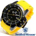 【キャンペーン対象外】 Smith & Wesson スミス&ウェッソン TROOPER WATCH 腕時計 YELLOW/BLACK SWW-397-YW