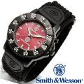【キャンペーン対象外】 Smith & Wesson スミス&ウェッソン 455 FIRE FIGHTER WATCH 腕時計 RED/BLACK SWW-455F