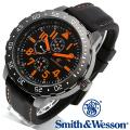 【キャンペーン対象外】 Smith & Wesson スミス&ウェッソン CALIBRATOR WATCH 腕時計 ORANGE/BLACK SWW-877-OR