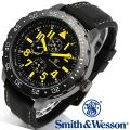【キャンペーン対象外】 Smith & Wesson スミス&ウェッソン CALIBRATOR WATCH 腕時計 YELLOW/BLACK SWW-877-YW