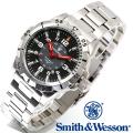 【キャンペーン対象外】 Smith & Wesson スミス&ウェッソン EMISSARY WATCH 腕時計 SILVER SWISS TRITIUM SWW-88-S