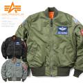 ALPHA アルファ TA0110 TIGHT MA-1フライトジャケット AIRCREW SAC
