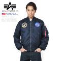 ☆ただいま15%OFF☆★即日出荷対応商品★ALPHA USA アルファ 日本未発売 TA0115 NASA 100th MISSION MA-1フライトジャケット アルファ インダストリーズ
