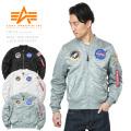 ☆ただいま20%割引中☆【即日出荷対応】ALPHA アルファ TA0135 NASA 100th MISSION L-2B フライトジャケット ミリタリージャケット アルファ インダストリーズ