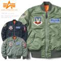 ALPHA アルファ TA0138 MA-1 TIGHT フライトジャケット AIR CREW 57TH