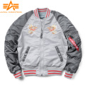 ★即日出荷対応商品★ALPHA アルファ TA0616 MA-1 SOUVENIR ジャケット DOUBLE DRAGON