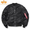 ★即日出荷対応商品★ALPHA アルファ TA0617-201 MA-1 SOUVENIR ジャケット SHINTO BLACK/BLACK