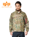 ALPHA アルファ TA1232-037 コールドパーカ MULTI CAMO LIGHT POLYESTER RIPSTOP■