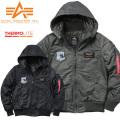 ★即日出荷対応商品★ALPHA アルファ TA1261 HOODED RIB ジャケット PATCHED COMMAND
