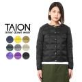 【即日出荷対応】TAION タイオン TAION-104 クルーネック インナーダウンジャケット WOMAN【Sx】