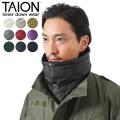 【即日出荷対応】TAION タイオン TAION-203 MOUNTAIN LINE ダウン ネックウォーマー【キャンペーン対象外】
