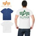☆超お買い得セール☆★キャンペーン対象外★ALPHA アルファ TC1158 S/S ポケット Tシャツ ALPHA MARK バックプリント