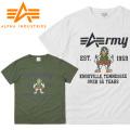 ☆まとめ割☆【ネコポス便対応】【即日出荷対応】ALPHA アルファ TC1266 S/S MR.ALPHA Tシャツ ARMY