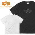 【ネコポス便対応】【即日出荷対応】ALPHA アルファ TC1290 S/S ワントーン プリント Tシャツ A-MARK ミリタリー