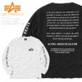 ☆まとめ割引対象☆ALPHA アルファ TC1319 L/S プリント Tシャツ ALPHA INDUSTRIES.COM