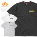 【即日出荷対応】【ネコポス便対応】ALPHA アルファ TC1407 ヘビーウエイト ワッペン半袖Tシャツ