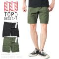☆いまなら20%OFF割引中☆【即日出荷対応】TOPO DESIGNS トポデザイン CARGO SHORTS カーゴショーツ / BDUショートパンツ