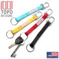 【ネコポス便対応】TOPO DESIGNS トポデザイン キークリップ - MADE IN USA