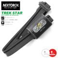 NEXTORCH ネクストーチ TREK-STAR MULTI-MODE LEDヘッドライト / 4モード 220ルーメン 懐中電灯