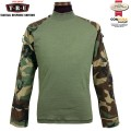 【キャンペーン対象外】TRU-SPEC トゥルースペック Tactical Response Combat シャツ ウッドランド 2560