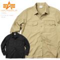 ☆大決算セール☆ALPHA アルファ TS5038 L/S ユーティリティシャツ SOLID