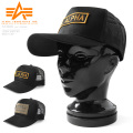 【即日出荷対応】ALPHA アルファ TZ3020 ロゴワッペン メッシュキャップ 帽子