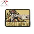 【ネコポス便対応】ROTHCO ロスコ 72187 SNIPER パッチ【取り寄せ】