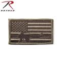 【ネコポス便対応】ROTHCO ロスコ 72204 SUBDUED FLAG W/RIFLE パッチ