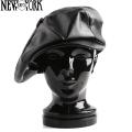 New York Hat ニューヨークハット 9209 Lambskin レザービッグアップル