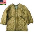 実物 米軍ナイトデザートカモ パーカー用ライナー USED 米軍放出品●ミリタリーファッション 軍服