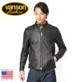 ☆ただいま15%OFF☆☆即日出荷対応商品☆VANSON バンソン B シングルライダースジャケット