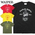 【ネコポス便対応】WAIPER.inc 1920002 S/S プリント Tシャツ Can Do/シービーボム 半袖