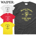 【ネコポス便対応】WAIPER.inc 1920003 S/S プリント Tシャツ Flying Tigers/フライングタイガー 半袖