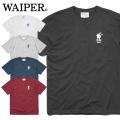 【ネコポス便対応】WAIPER.inc 1920004 S/S プリント Tシャツ U.S.N DUTY CAT/クロネコ 半袖
