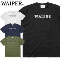 【ネコポス便対応】WAIPER.inc 1920006 S/S プリント Tシャツ WAIPER LOGO 半袖