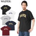 【即日出荷対応】【ネコポス便対応】WAIPER.inc 1920008 S/S プリントTシャツ VINTAGE COLLEGE LOGO 【キャンペーン対象外】