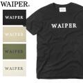 ☆夏割25%OFF☆【ネコポス便対応】【即日出荷対応】WAIPER.inc 1819005 S/S BASIC LOGO Tシャツ