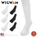 ☆ただいま20%割引中☆WIGWAM ウィグワム WG-S1077 SUPER 60 CREW 3P SOCKS ソックス 靴下