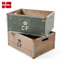 ☆ただいま15%割引中☆新品 デンマーク軍 ストレージウッドボックス Large