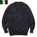 ☆まとめ割引対象☆実物 新品 イタリア軍 カラビニエリ Vネックセーター チャコール