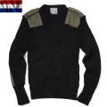 実物 新品 オランダ軍コマンドセーター Kempton社製 BLACK