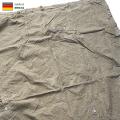 実物 東ドイツ NVA テントシェル レインドロップカモ テントシート USED パップテント【Sx】