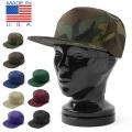 新品 5パネル スナップバック ツイル B.B.キャップ MADE IN USA 帽子 ミリタリー