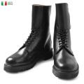 【即日出荷対応】実物 新品 イタリア軍 サイドバックル レザーブーツ ミリタリー 軍放出品 ファッション【Sx】