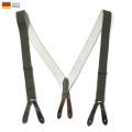 【ネコポス便対応】実物 USED ドイツ軍 BW サスペンダー #1 ミリタリー 軍放出品 ファッション【Sx】