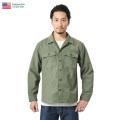 ★今だけ10%OFF特価★忠実復刻 新品 米軍 OG-107 ファティーグシャツ ミリタリーファッション 軍服