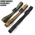 新品 GW0115 COBRA BUCKLE ナイロンベルト NARROW